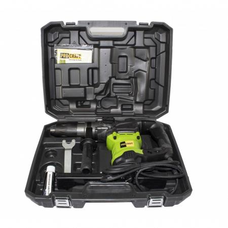 Ciocan Rotopercutor Procraft BH2350 SDS Max, 2350W, 550rpm, produsul contine taxa timbru verde 2.5 Ron [2]