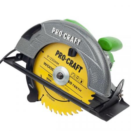 Circular electric de mana Procraft KR2830, 2.8 kW, 235 mm, 4500 rot/min [0]