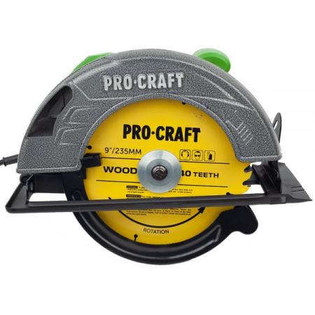 Circular electric de mana Procraft KR2830, 2.8 kW, 235 mm, 4500 rot/min [2]