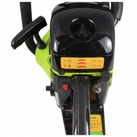 Drujba BUK BP4500, motofierastrau pe benzina, 4 CP, 2800 rpm, 2 lanturi si 2 lame [1]