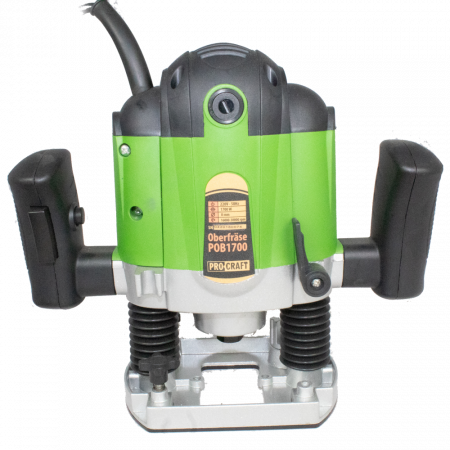 Freza lemn ProCraft POB1700, 1700 W, 16000-30000 RPM, 50 mm + Set 12 freze pentru lemn,produsul contine taxa timbru verde 2 Ron, 4.63 kg [1]