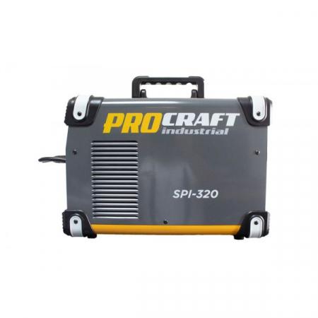 Invertor MMA + MIG Procraft SPI 320 + Cabluri si Pistol, Industrial, Electrozi si Gaz , 320 Amperi [1]
