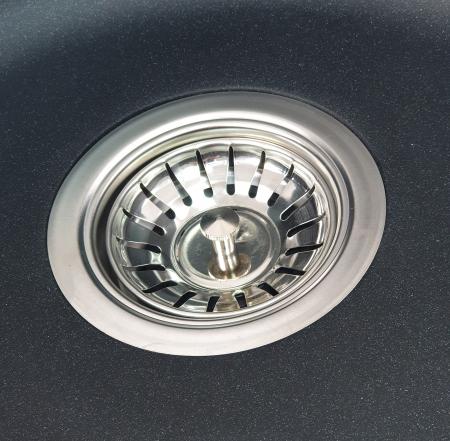 MIXXUS HB8310-G226 NEGRU, chiuveta ovala bucatarie granit [2]