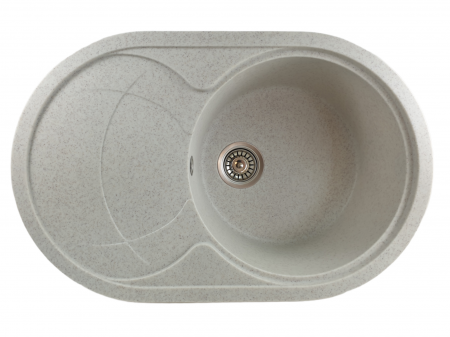 MIXXUS HB8310-G319 NISIP, chiuveta ovala bucatarie granit [0]