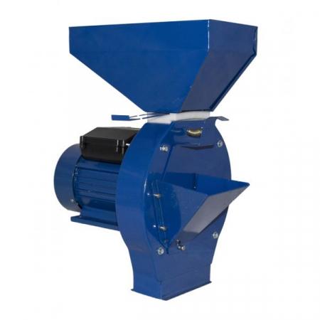 Moara de cereale/fructe Elefant CM1.1D, Uruitor electric 3.5 kW, 3000 rpm + site+razatoare [3]