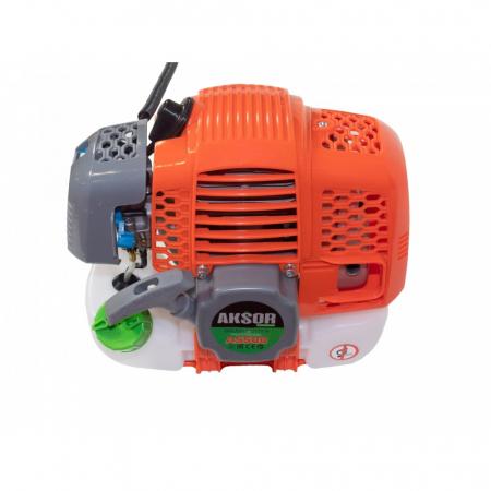 Motocoasa pe benzina Aksor A5500, 5.5 kW, 6500 rpm, 415 mm, 4 sisteme taiere [1]