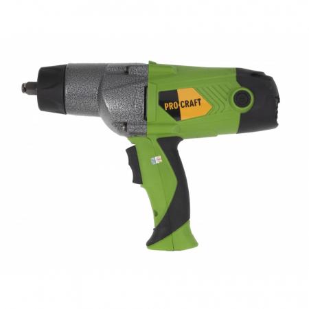 Pistol electric cu impact, Procraft ES1650, 1650W, 450Nm, produsul contine timbru verde 2.5 Ron [2]