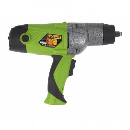 Pistol electric cu impact, Procraft ES1650, 1650W, 450Nm, produsul contine timbru verde 2.5 Ron [3]