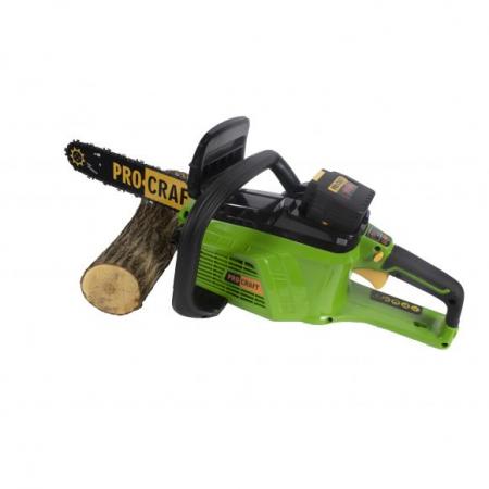 PROCRAFT PKA40Li, drujba electrica cu acumulator [0]