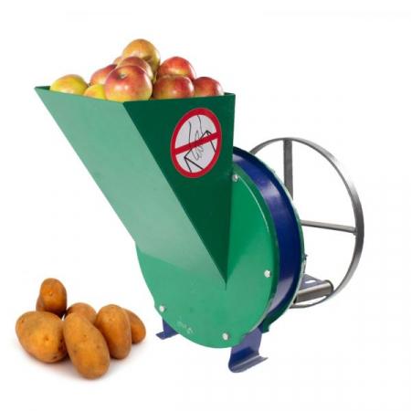 Razatoare fructe Vinita, manuala + fulie atasare motor, Cutit inox [0]