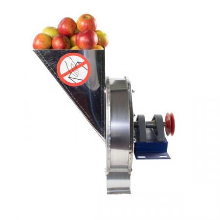 Razatoare fructe Vinita, manuala + fulie atasare motor, Tambur+cuva inox [2]