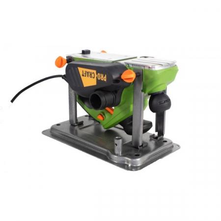 Rindea Electrica cu masa Procraft PE 1650, 1.6 kW, 16000 rpm, 2 cutite + sac colectare [1]