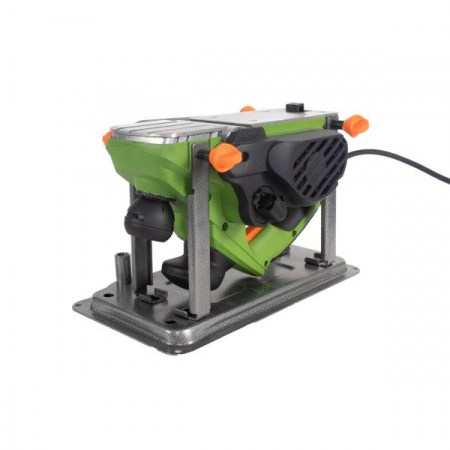 Rindea Electrica cu masa Procraft PE 1650, 1.6 kW, 16000 rpm, 2 cutite + sac colectare [0]