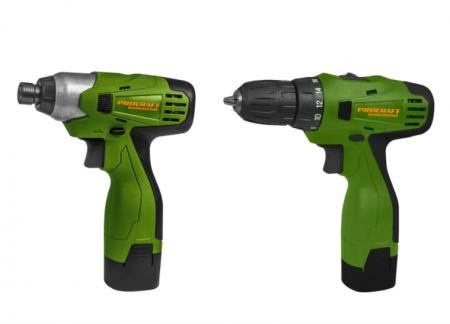 Set autofiletanta Procraft PA168 cu acumulator si pistol cheie cu impact cu acumulator Procraft [0]