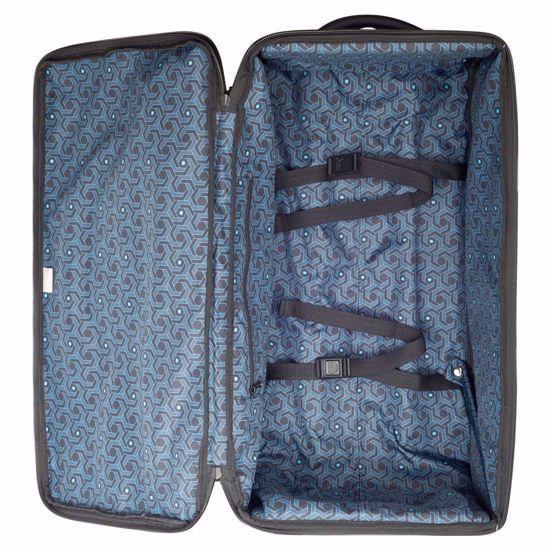 Delsey duffle bag Egoa rolling 69cm black 2