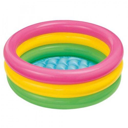 Piscina  gonflabila  pentru copii multicolora 0