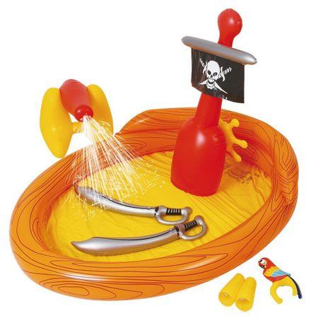 Piscina gonflabila de joaca pirati 220 x 160 x 120 cm 0