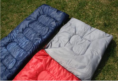 Set Sac de Dormit Klept si husa, 210 x 75 cm, Albastru 1