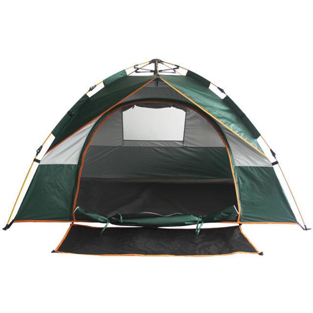 Cort de camping automat Verde, Klept, 2-3 persoane, dimensiuni 190 x 190 x 130 cm 1