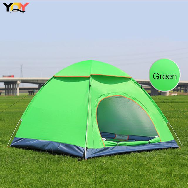 Cort de camping, Klept, Verde, 3-4 persoane, dimensiuni 130 x 195 x 120 cm [1]