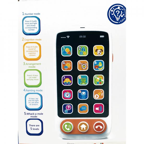 Jucărie telefon mobil puzzle touch screen 2