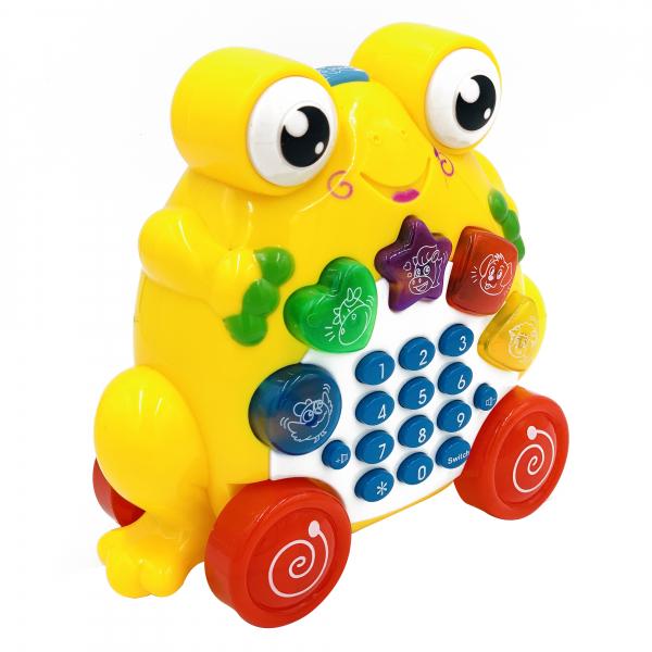 Jucarie telefon broasca 1