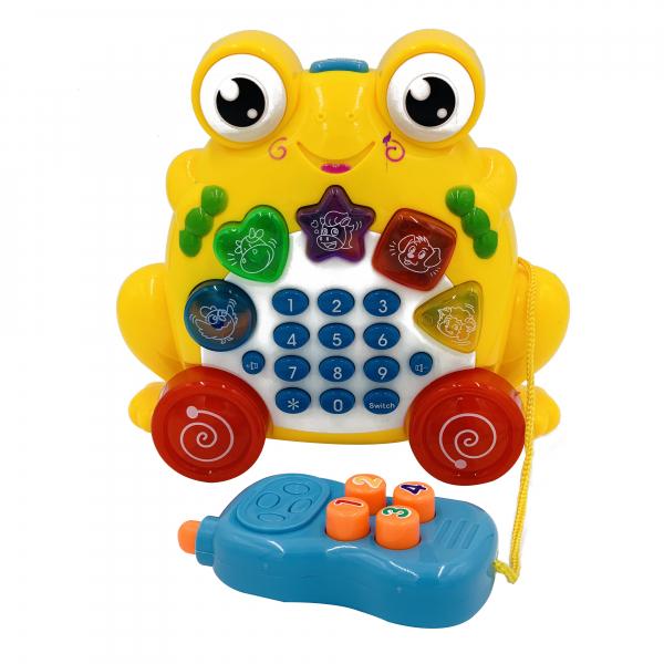 Jucarie telefon broasca 3