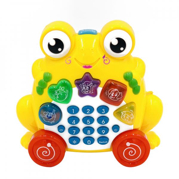 Jucarie telefon broasca 0