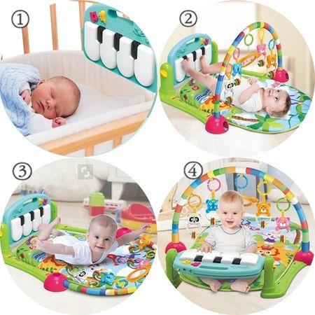 Saltea de joaca muzicala/centru de activitati bebelusi 1