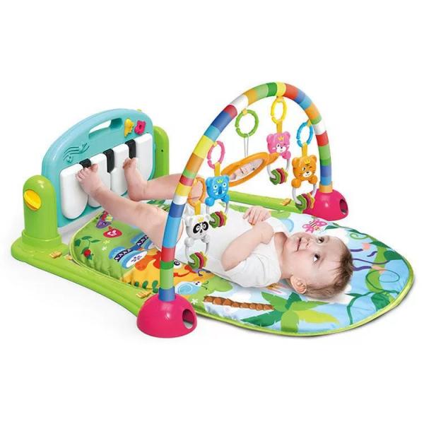 Saltea de joaca muzicala/centru de activitati bebelusi 0
