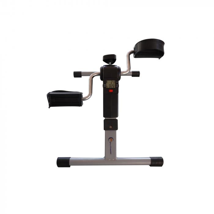 Mini bicicleta pliabila 2in1 fitness de antrenament pentru reabilitare, display LCD si functie de reglare a rezistentei 3
