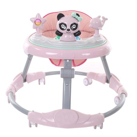 Premergator cu figurine pentru copii,Pliabil , Roz 0