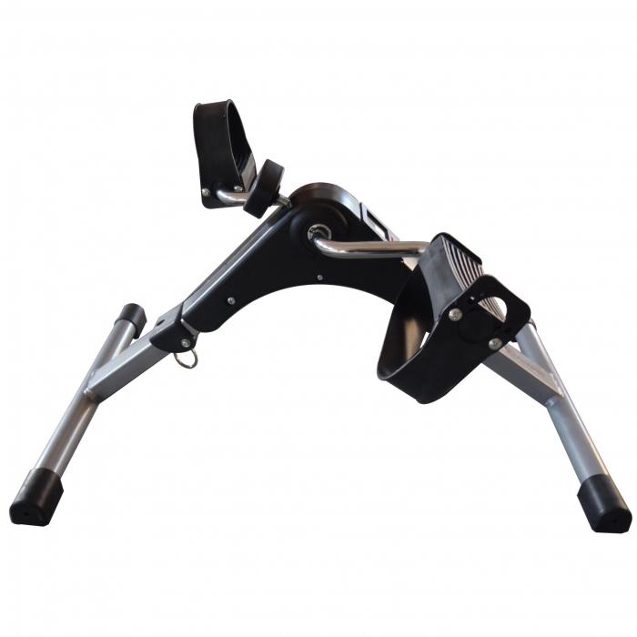 Mini bicicleta pliabila 2in1 fitness de antrenament pentru reabilitare, display LCD si functie de reglare a rezistentei 6