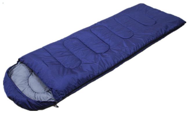 Set Sac de Dormit Klept si husa, 210 x 75 cm, Albastru 5