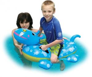 Colac gonflabil pentru copii  model hipopotam Klept1