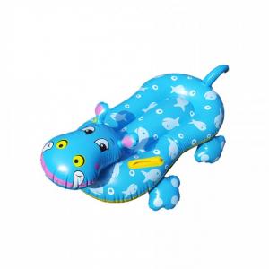 Colac gonflabil pentru copii  model hipopotam Klept0