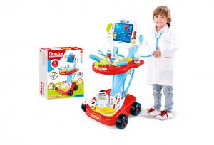 """Set de Joaca Interactiv si Educativ 2 in 1 si Jucarie de Rol pentru Copii """"Medical Doctor"""", 32 x 41 x 58 cm0"""