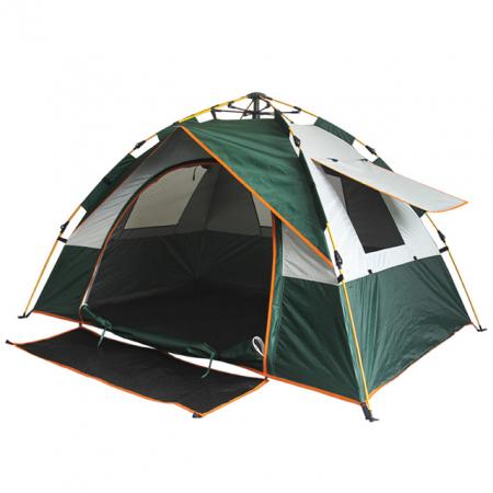 Cort de camping automat Verde, Klept, 2-3 persoane, dimensiuni 190 x 190 x 130 cm0