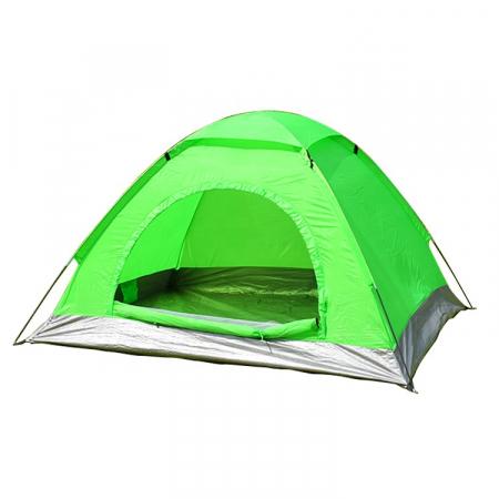 Cort de camping, Klept, Verde, 3-4 persoane, dimensiuni 130 x 195 x 120 cm [0]