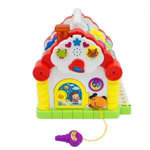 Jucarie interactiva Cottage - cu forme, lumini si sunete0