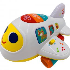 Jucarie interactiva Hola, Avionul buclucas cu lumini si sunete4