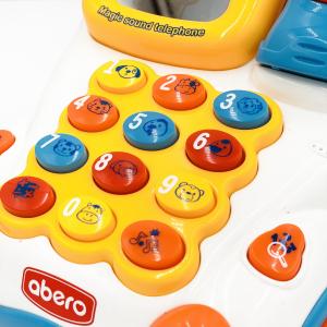 Jucarie interactiva  pentru bebelusi , Telefon cu sunete3