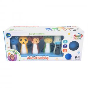 Jucarie set Bowling cu figuri animale 10/buc5
