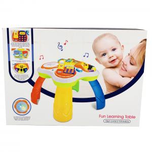 Masuta Multifunctionala pentru Copii cu 4 jucarii7