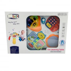 Masuta Multifunctionala pentru Copii cu 4 jucarii8