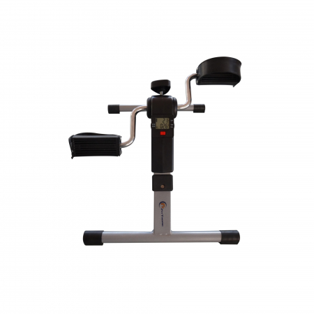 Mini bicicleta pliabila 2in1 fitness de antrenament pentru reabilitare, display LCD si functie de reglare a rezistentei3