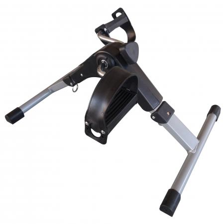 Mini bicicleta pliabila 2in1 fitness de antrenament pentru reabilitare, display LCD si functie de reglare a rezistentei4