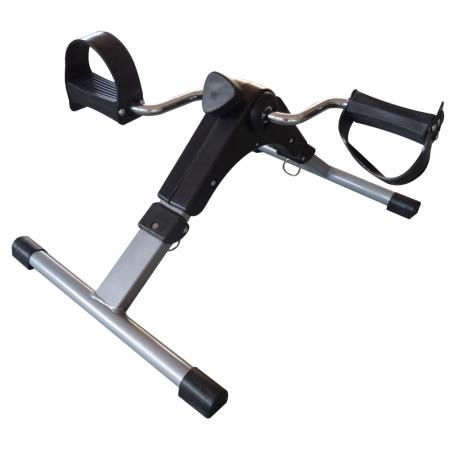 Mini bicicleta pliabila 2in1 fitness de antrenament pentru reabilitare, display LCD si functie de reglare a rezistentei2