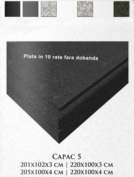 Capac granit model 5 188x98x8cm 0