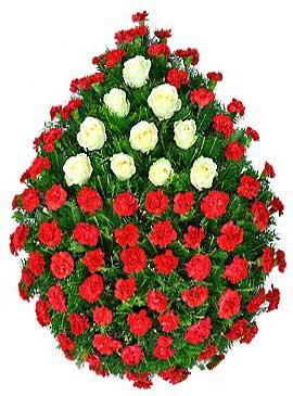 Coroana garoafe si trandafiri 14 0